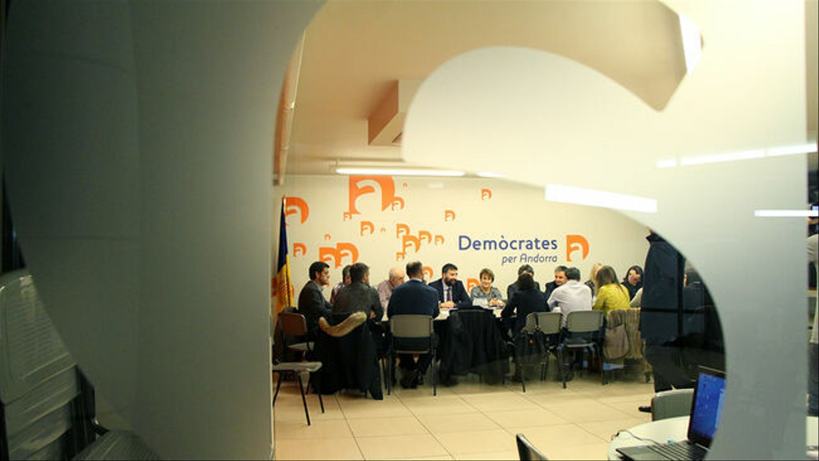 Una reunió de l'executiva de DA. / M. M. (ANA)