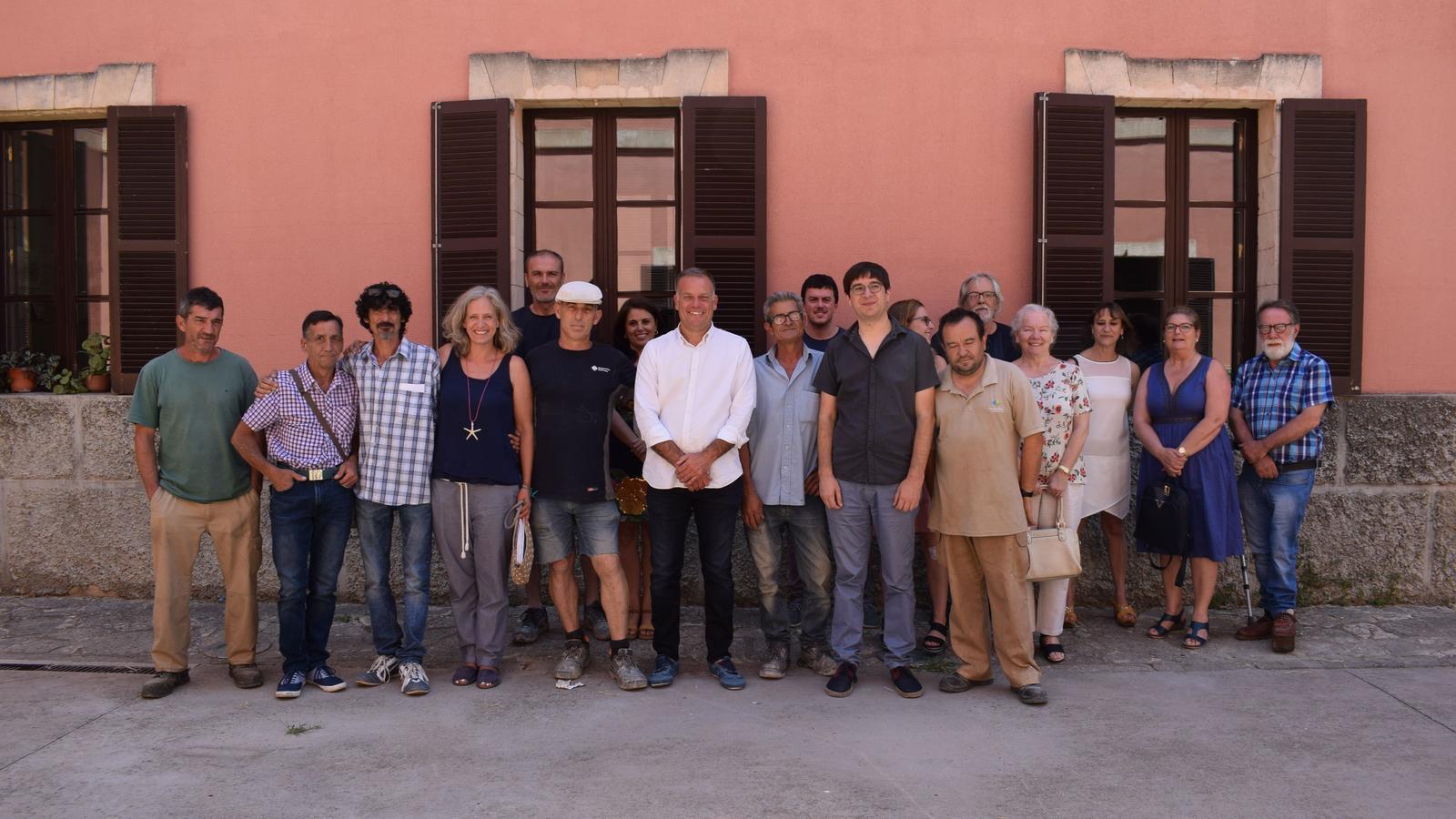 El programa SOIB Visibles ha ocupat 16 treballadors a Inca durant el darrer any