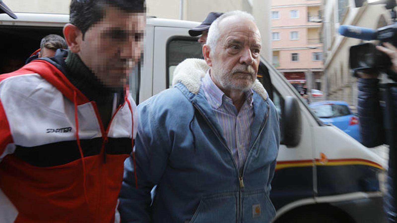 La Fiscalia demana vuit anys i mig de presó per a Cursach