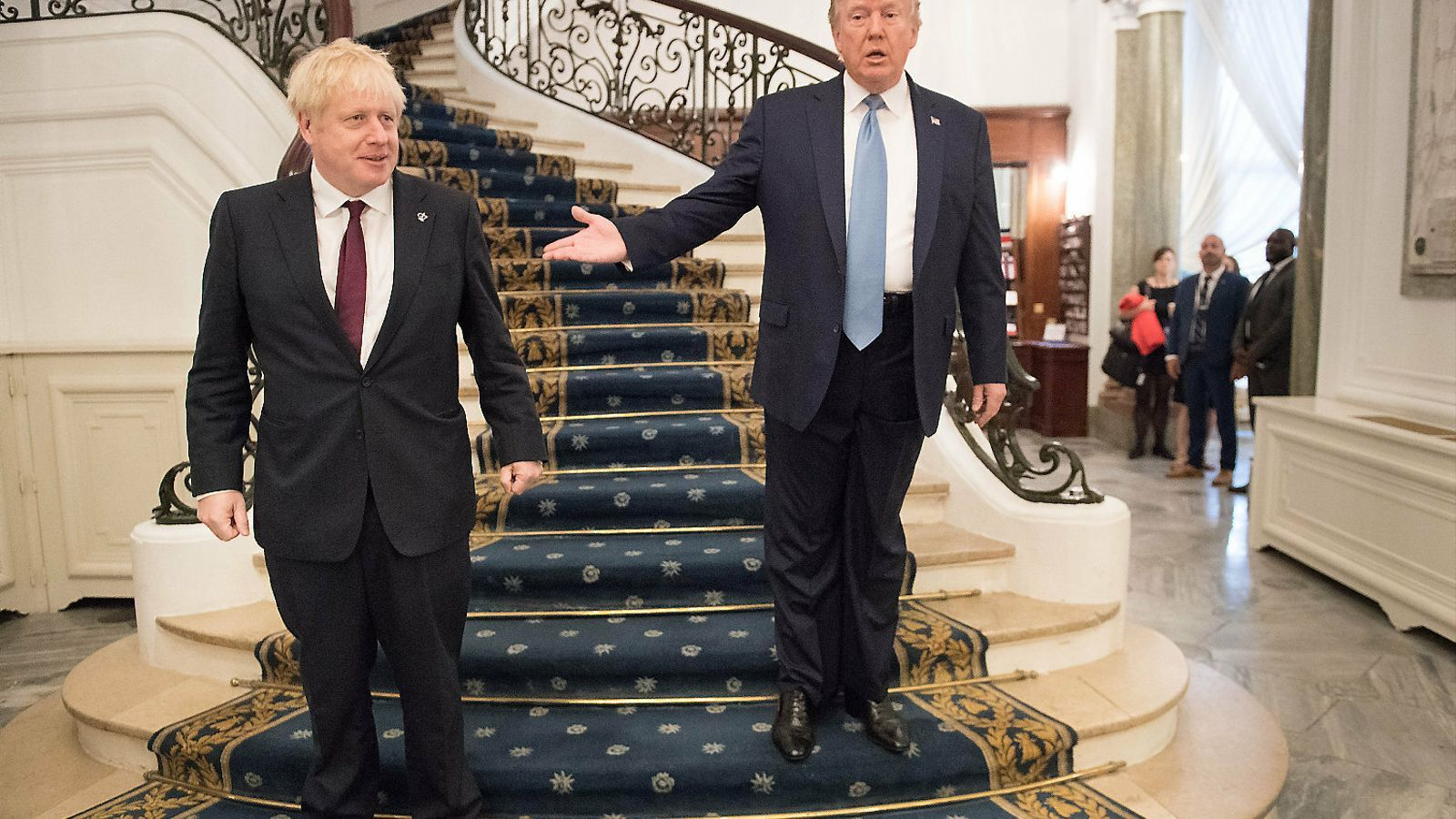 El president Trump i el premier Boris Johnson.