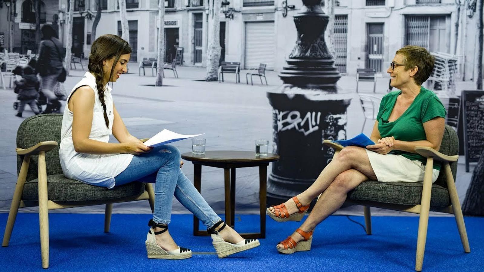 Entrevista de Laura Rosel a Raquel Fernández