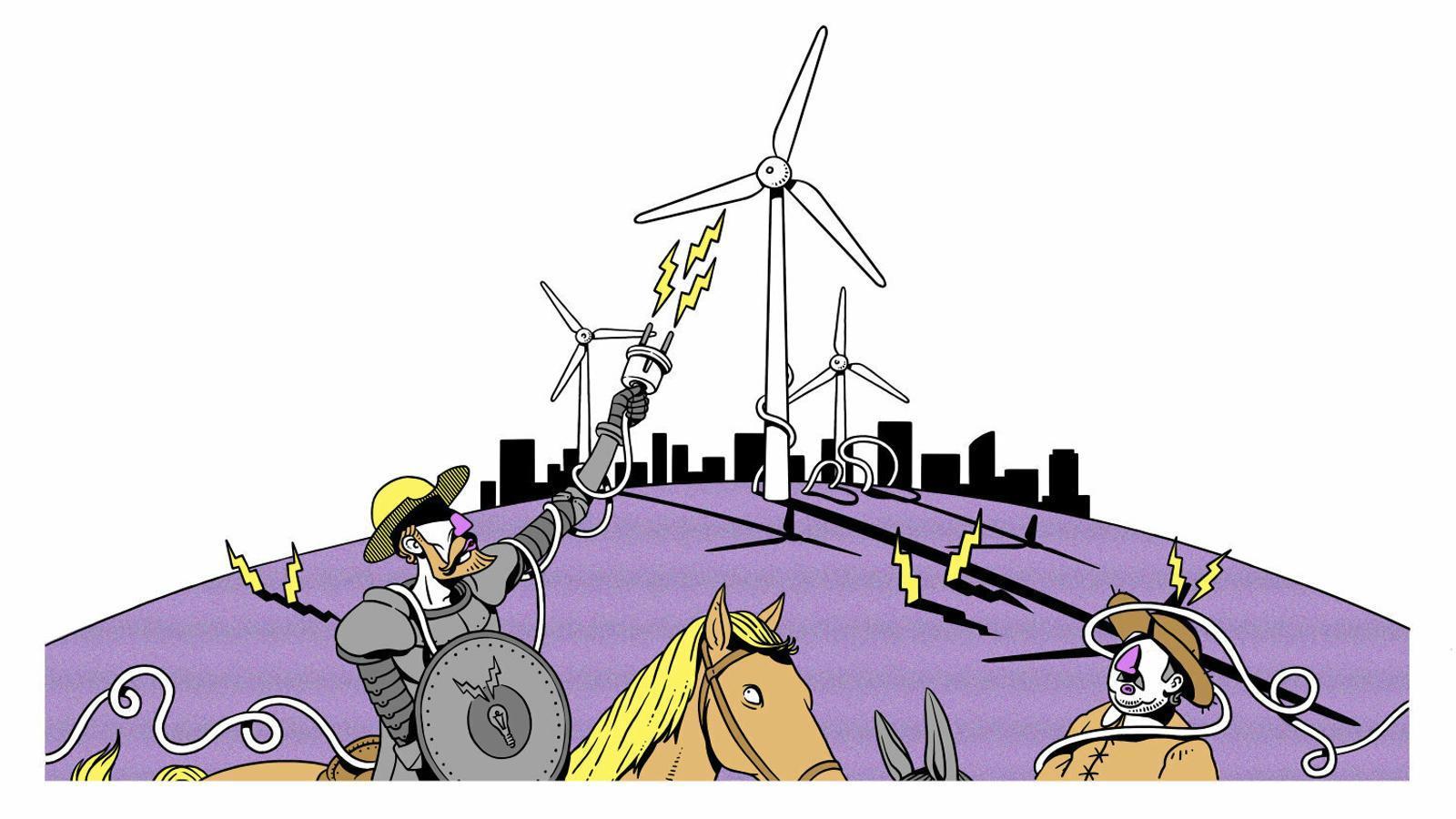 El nou model que amenaça l'oligopoli elèctric