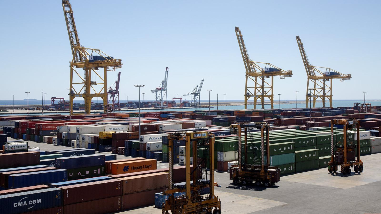Els ports catalans creixen més que els de l'Estat