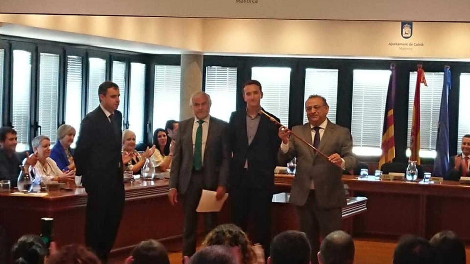 Alfonso Rodríguez tornarà a ser batle de Calvià amb el suport de Podem-MÉS.