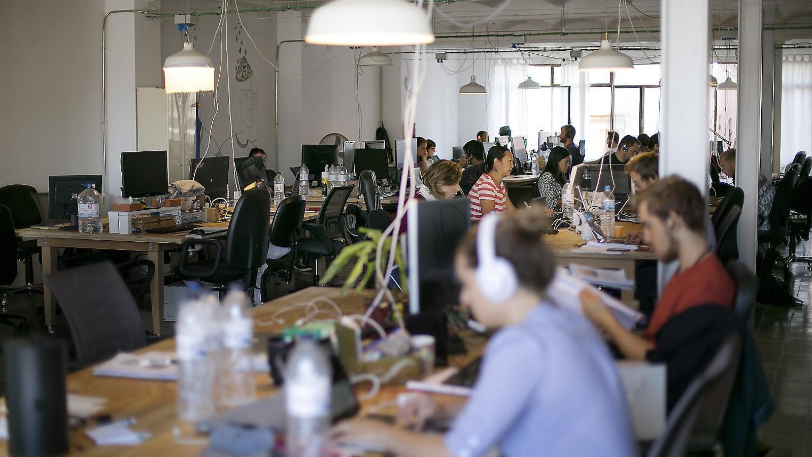 El 'coworking'  ja no és només territori 'hipster'