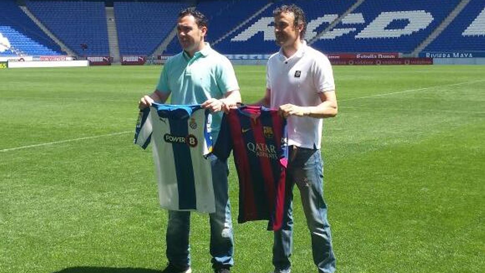 ¿Cuánto mide Sergio González Soriano? Sergio-Gonzalez-Enrique-FC-BARCELONA_1345075634_21908414_651x366