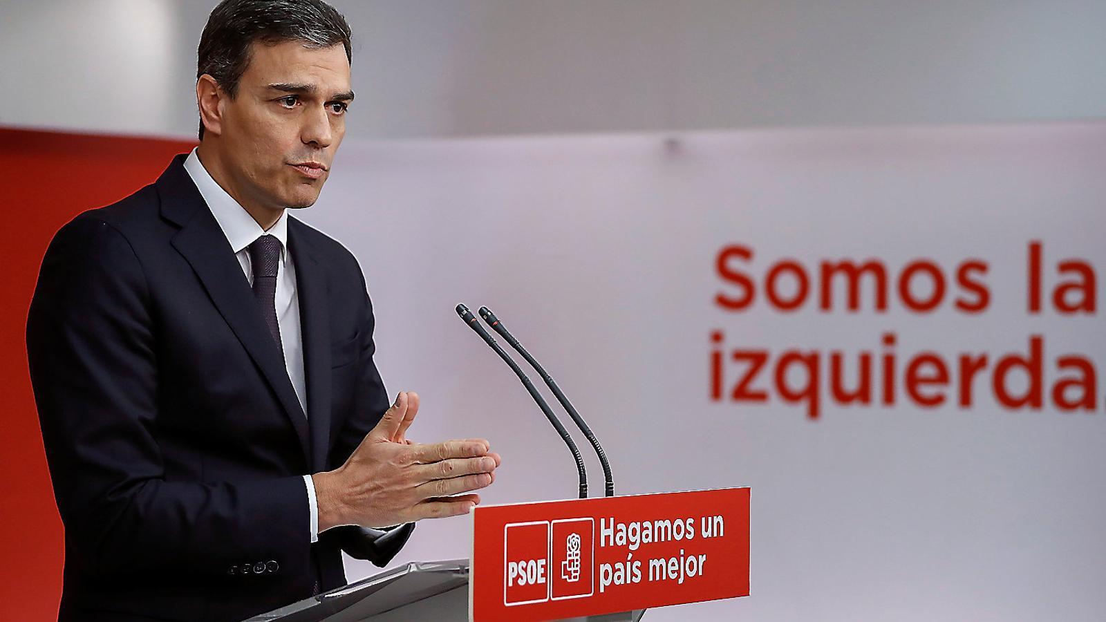 Sánchez proposa adequar el delicte de rebel·lió al cas català
