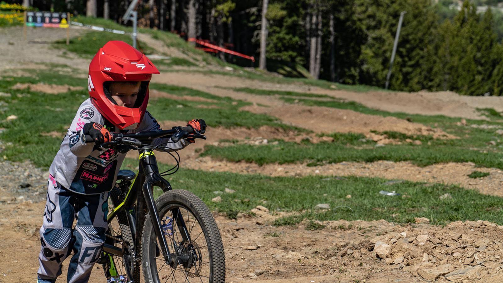Balanç de la temporada d'estiu del Bike Park de Vallnord Pal Arinsal. / VALLNORD