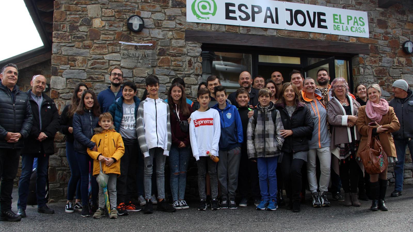 Inauguració de l'Espai Jove del Pas de la Casa. / M. M. (ANA)