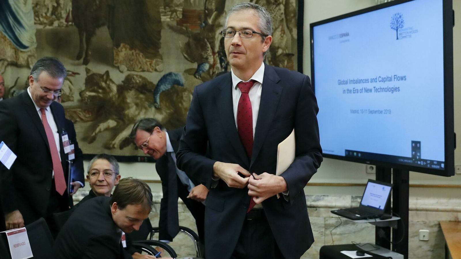 El Banc d'Espanya alerta d'una forta aturada de l'economia aquest any