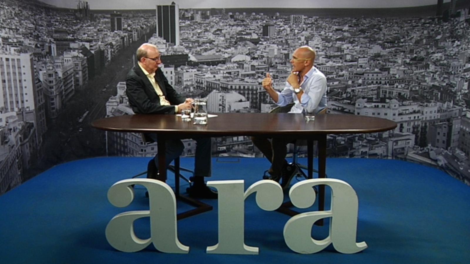 Entrevista d'Antoni Bassas a Raül Romeva
