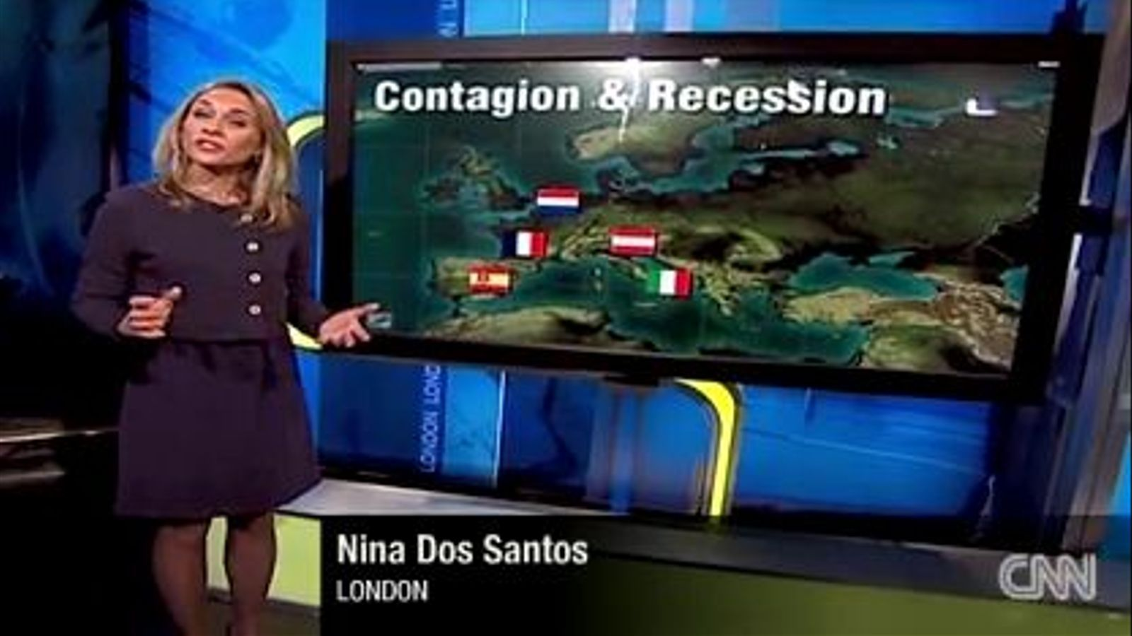La cadena CNN torna a utilitzar en un vídeo la bandera espanyola del franquisme