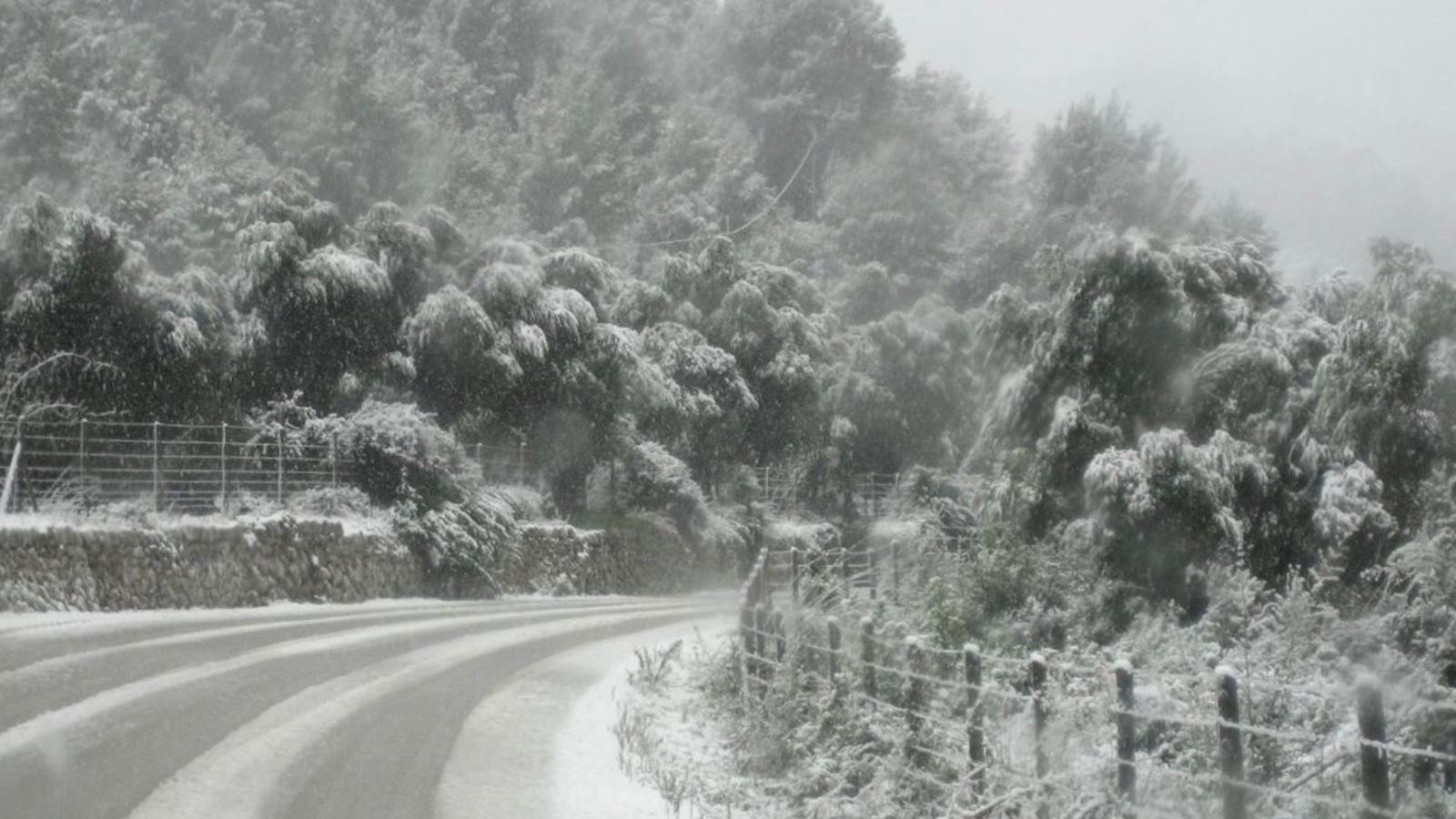 Les baixes temperatures poden provocar nevades