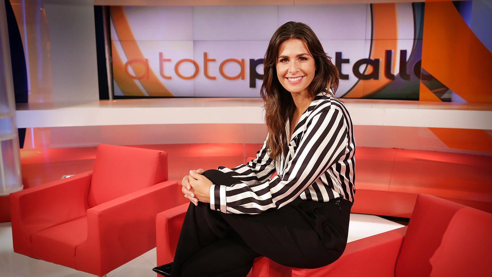 Nuria Roca presenta 'A tota pantalla'