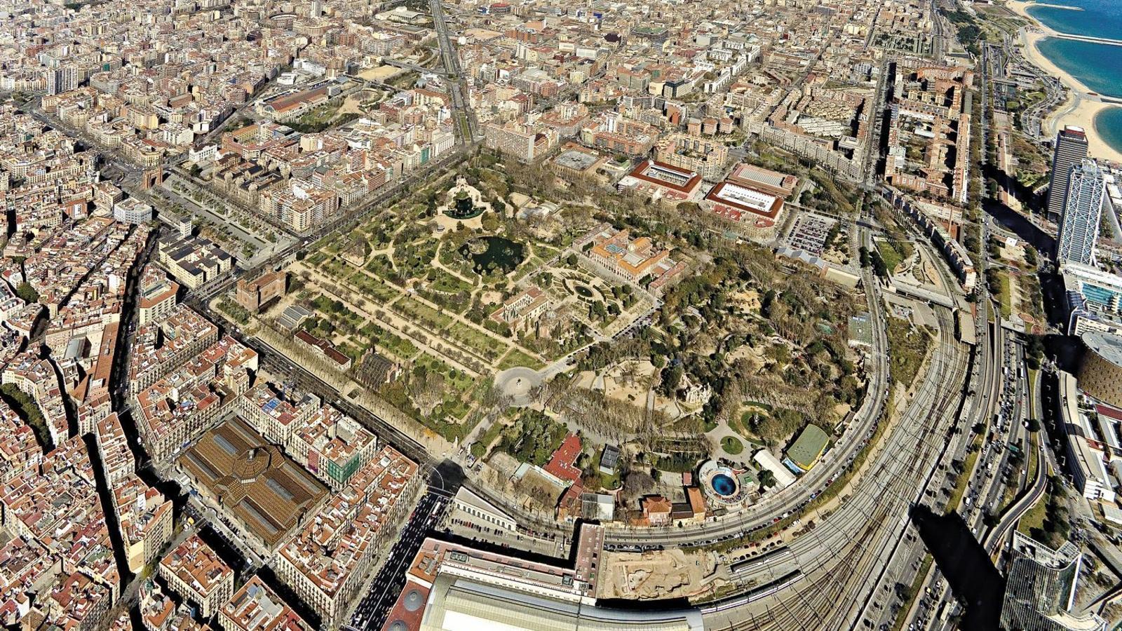 Barcelona s'oxigenarà amb 165 illes d'espai verd
