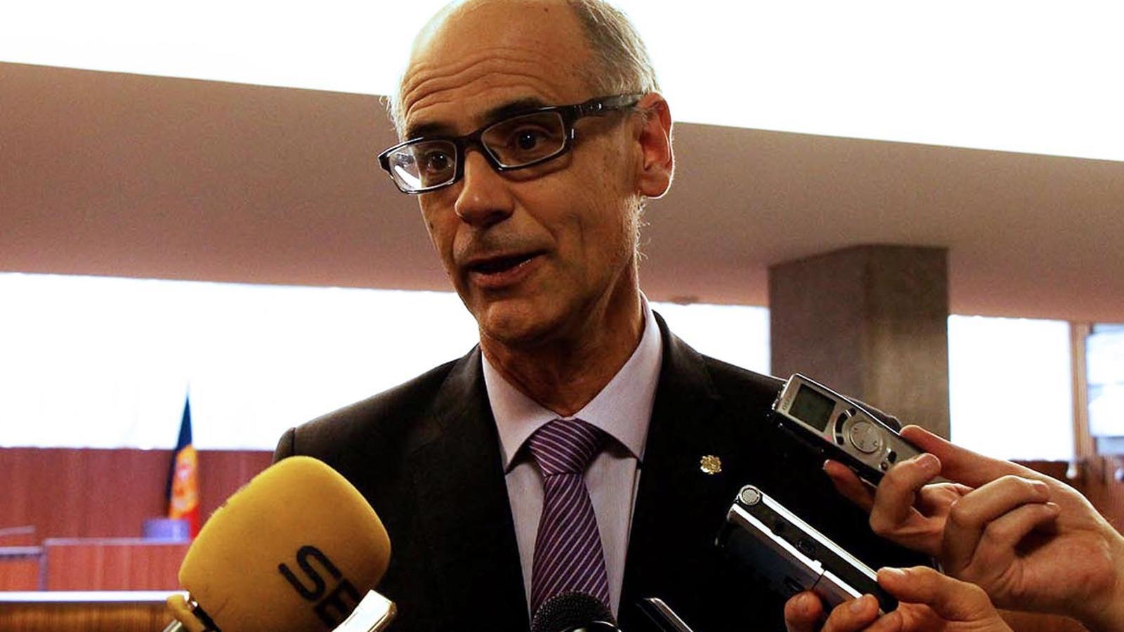 El cap de Govern, Toni Martí. / M. F. (ANA)