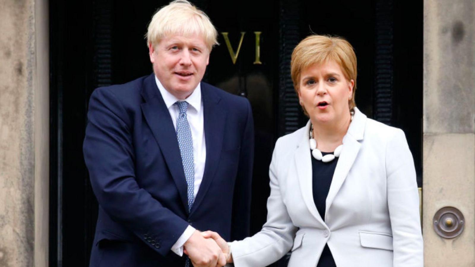 Johnson nega a Escòcia els poders per a un segon referèndum d'independència