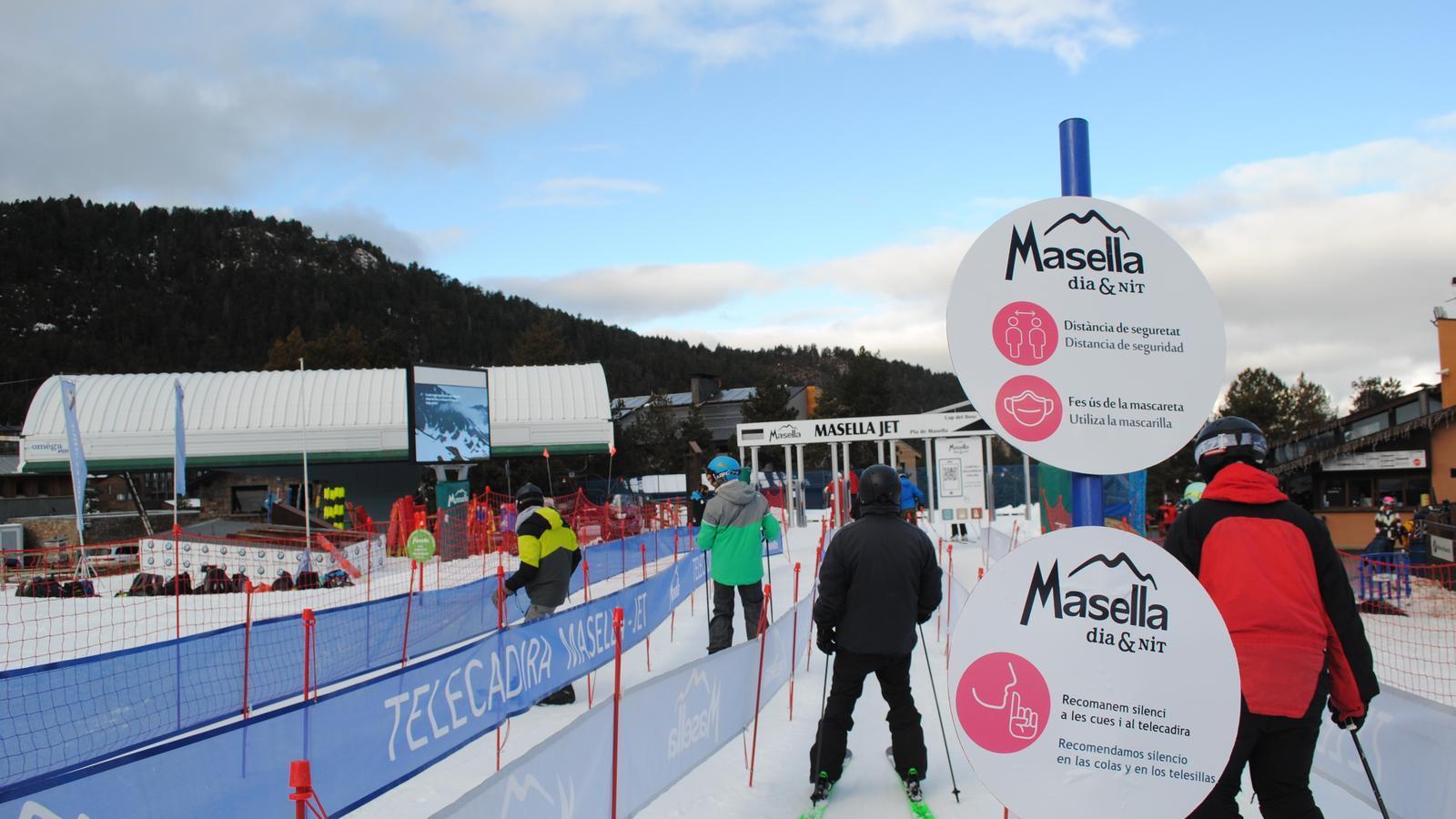 Els esquiadors, aquesta setmana a la Masella