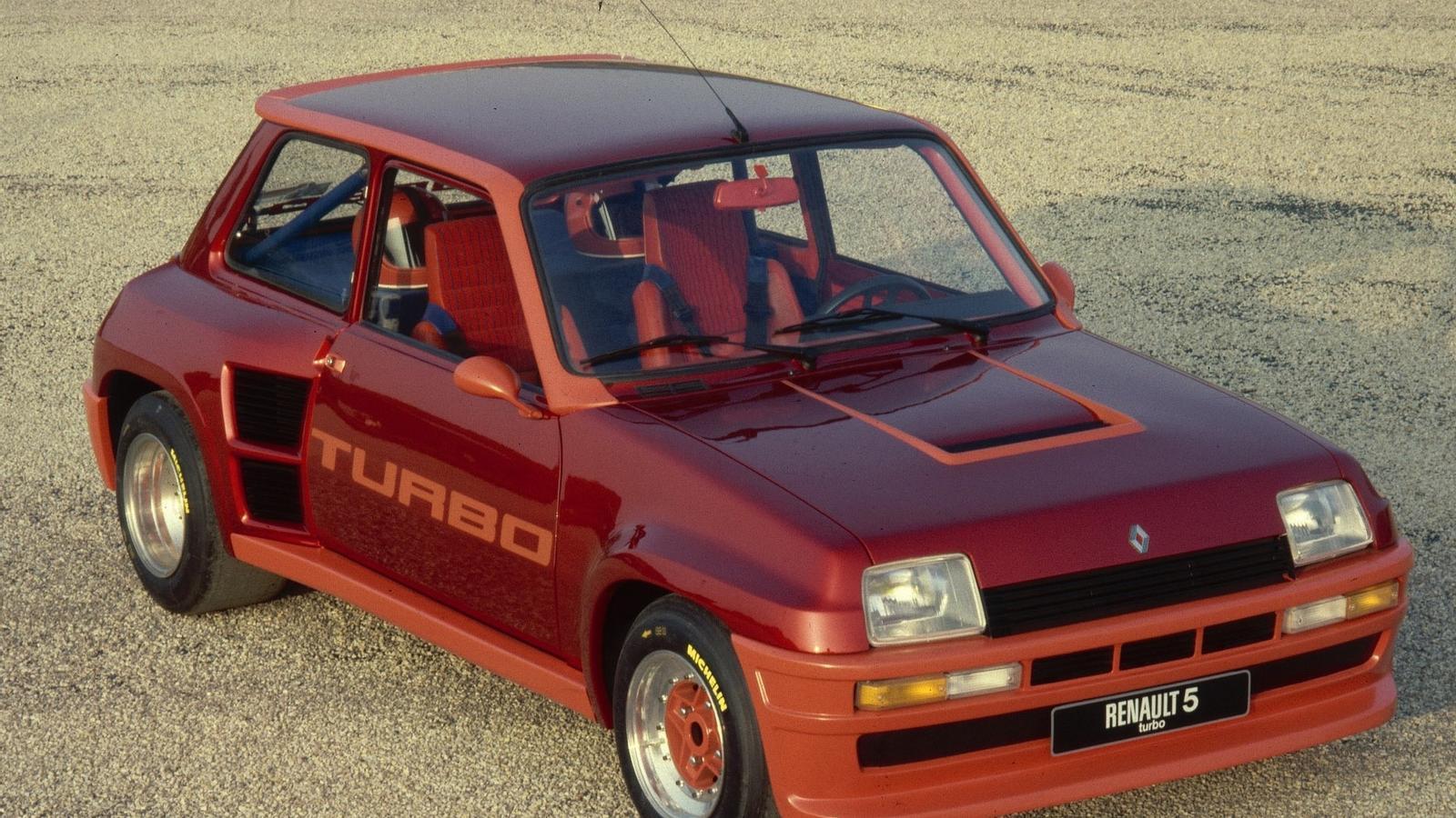 Renault 5 Turbo, només apte per als experts