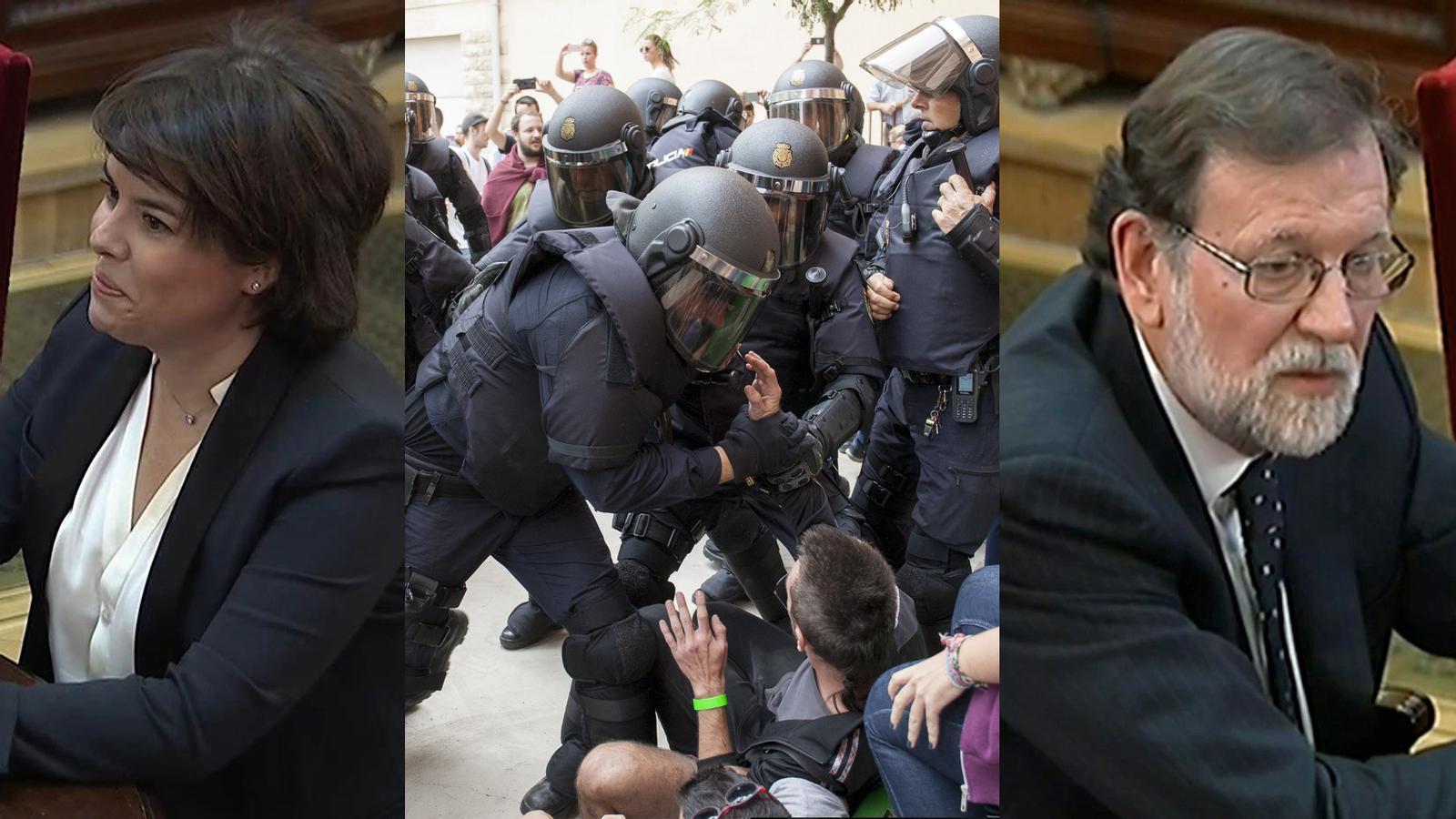 L'anàlisi d'Antoni Bassas: 'La covardia de Rajoy i Soraya'