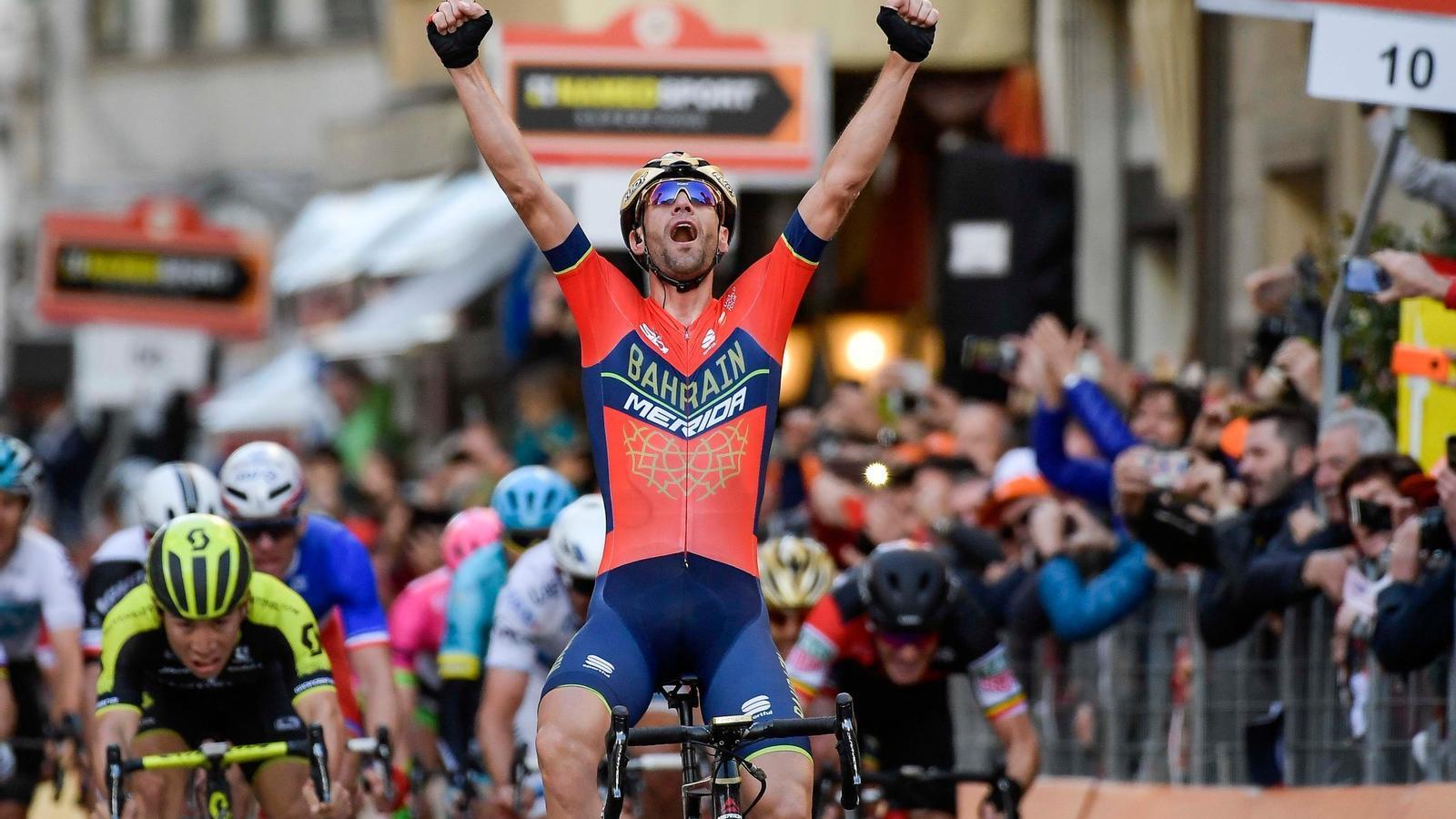 Vincenzo Nibali guanya per primer cop la Milà-San Remo