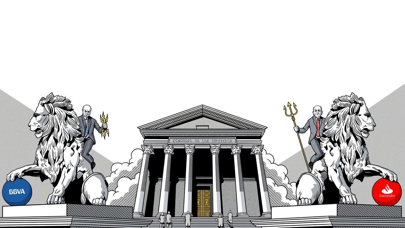 Reportatge: Viatge a les clavegueres de la banca