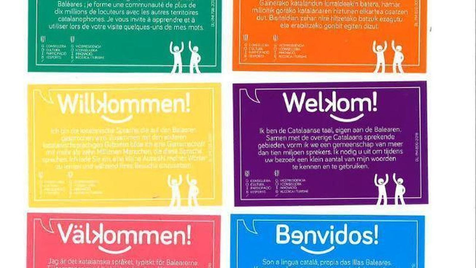 Sociedad Civil Balear anima als hotelers a no repartir fulletons sobre català