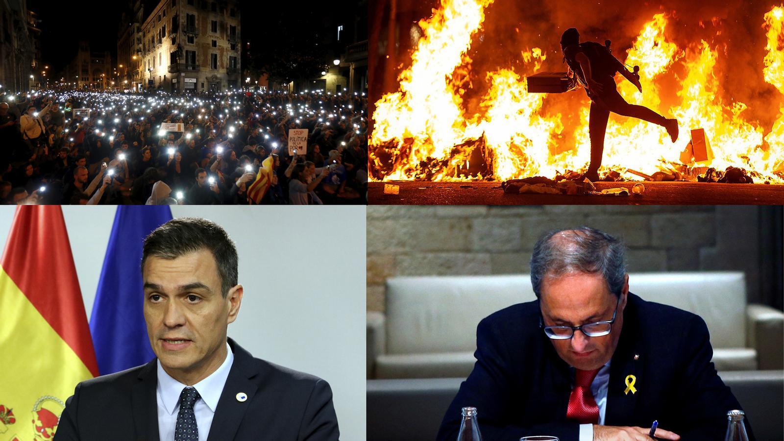 L'anàlisi d'Antoni Bassas: 'Causa justa al carrer, bloqueig polític electoral, desolació i esperança malgrat tot'