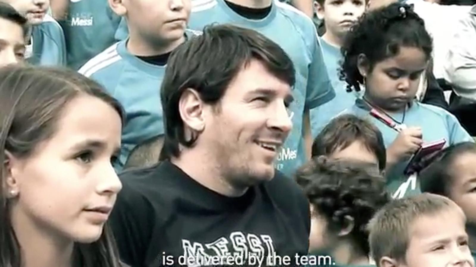 Messi, agraït amb la seva tercera Pilota d'Or