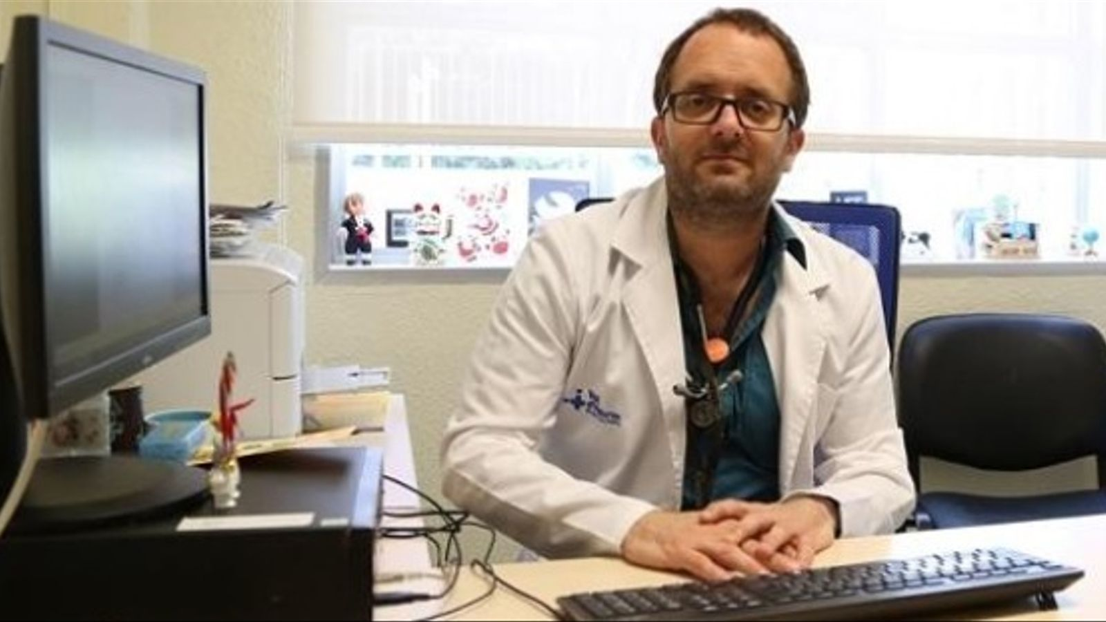 El cap de secció de la unitat de patologia infecciosa i immunodeficiències pediàtriques de l'Hospital de la Vall d'Hebron, Pere Soler / P.S.