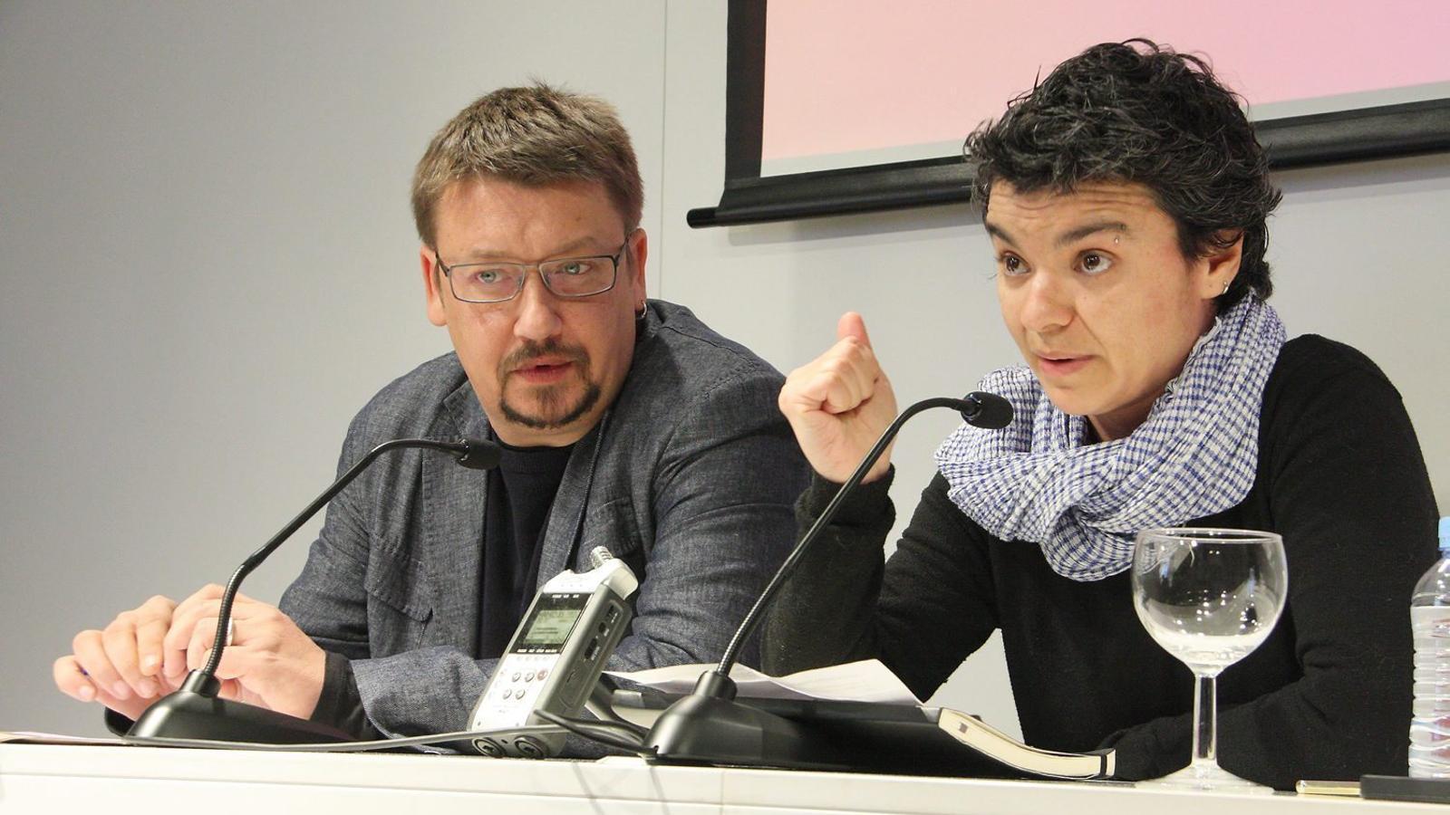 Lucía Martín es perfila com a número 2 d'En Comú Podem per Barcelona