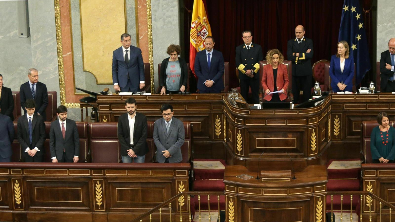 El PSOE permet l'entrada de Vox a la mesa del Congrés per assegurar-se la vicepresidència primera