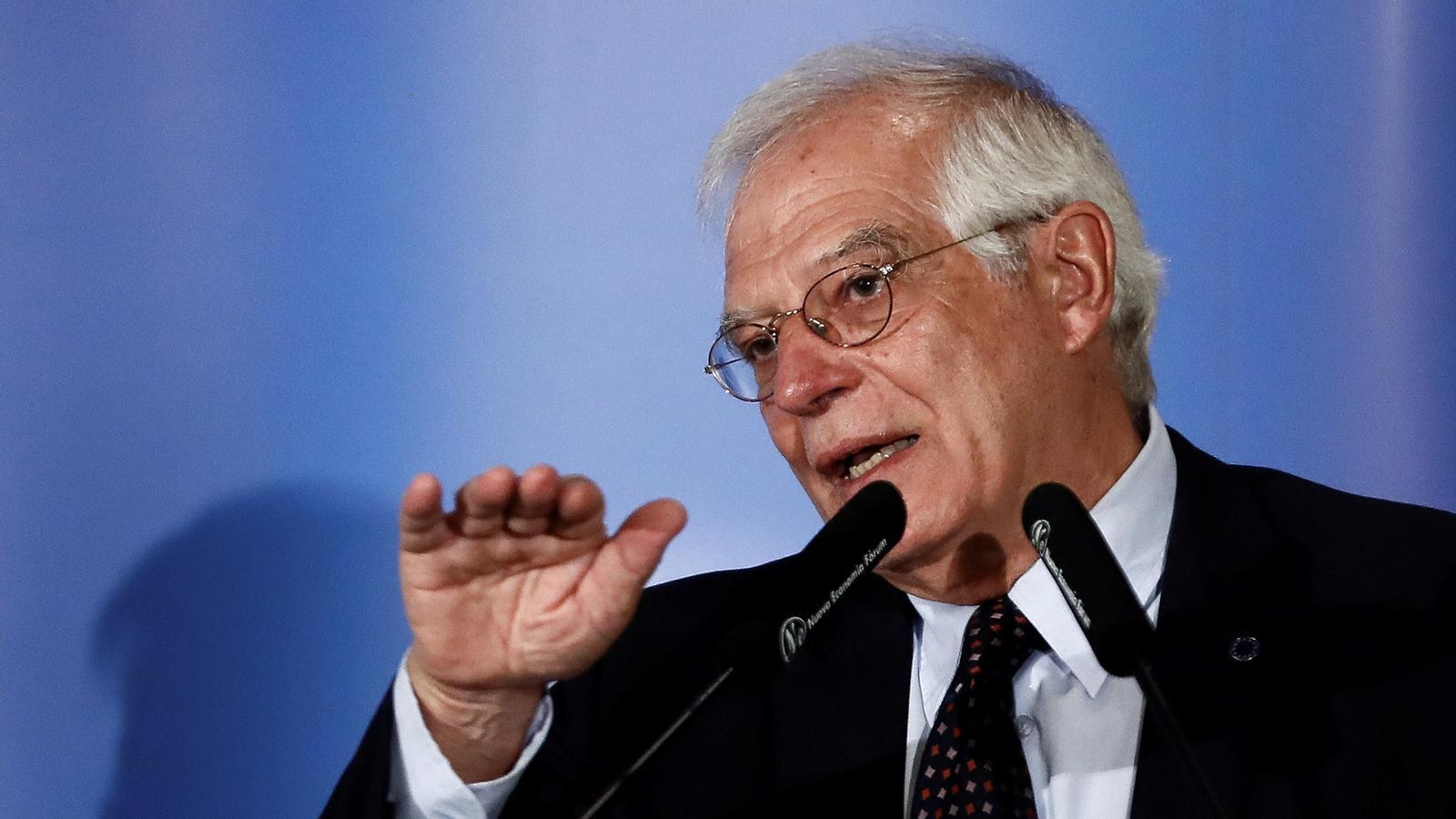 L'anàlisi d'Antoni Bassas: 'Borrell: si la imatge d'Espanya està danyada no és pel relat, és pels fets'