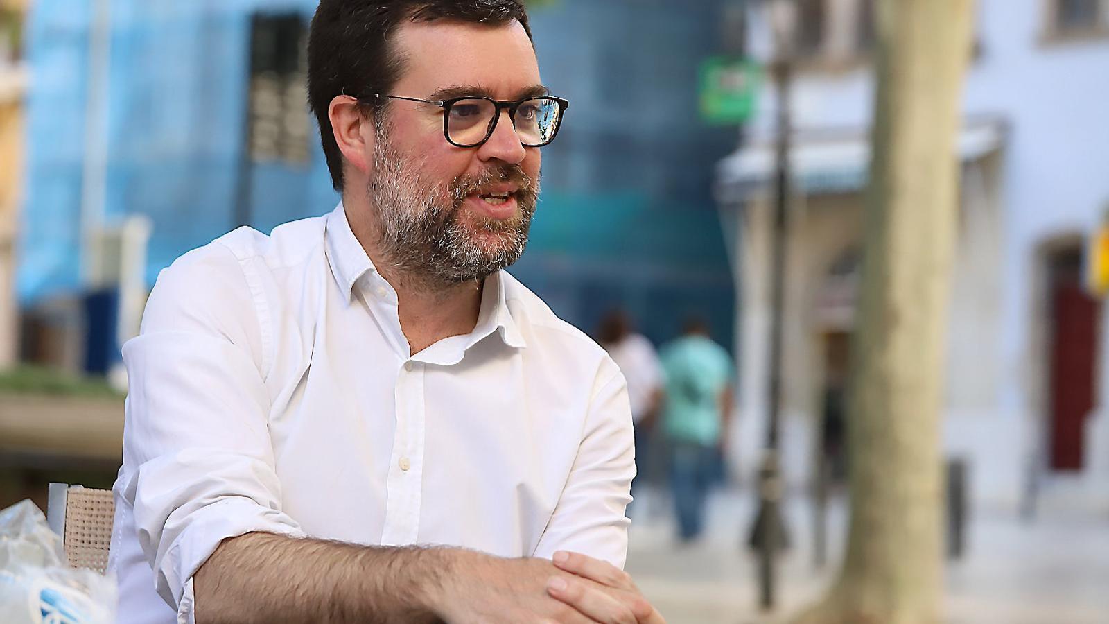 """Antoni Noguera """"De vegades he trobat a  faltar la complicitat de Podem, especialment en polítiques d'esquerra"""""""