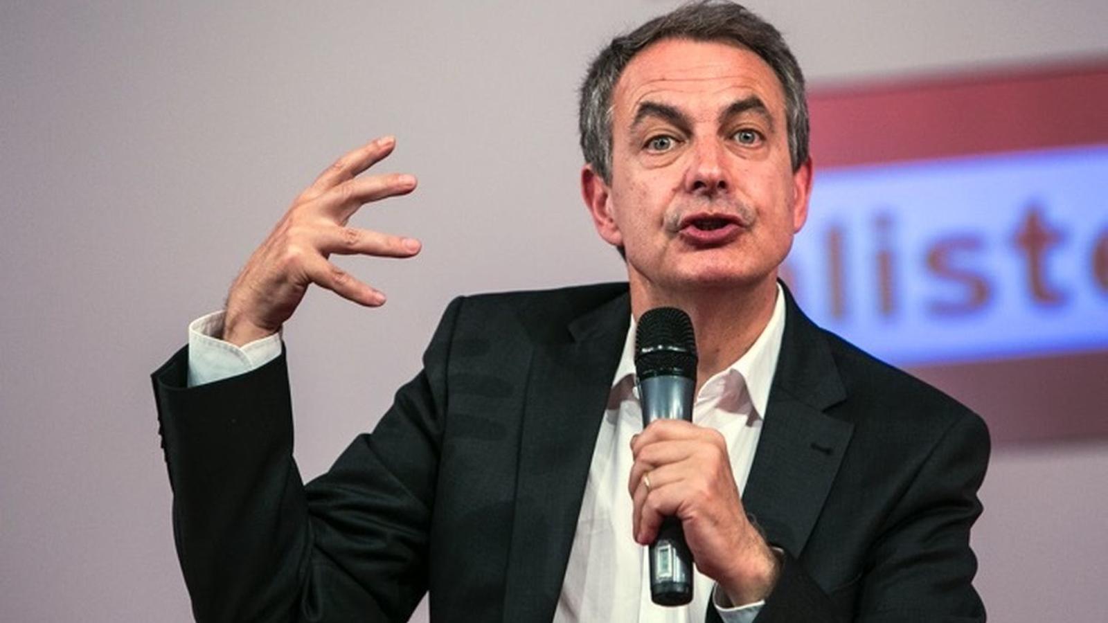 Zapatero sentencia que Catalunya mai serà independent i augura que el conflicte acabarà amb un acord