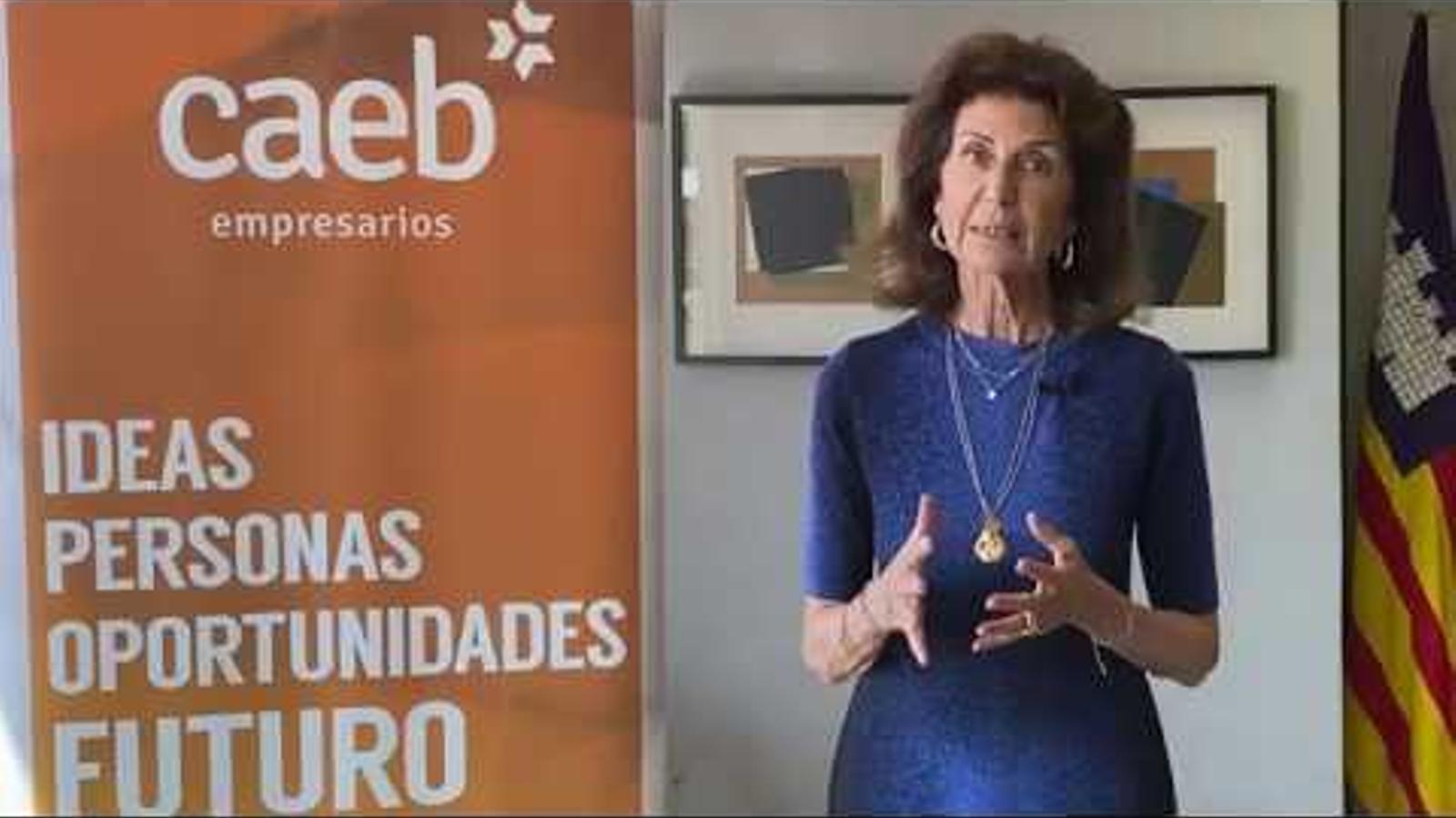El missatge que llança Carmen Planas