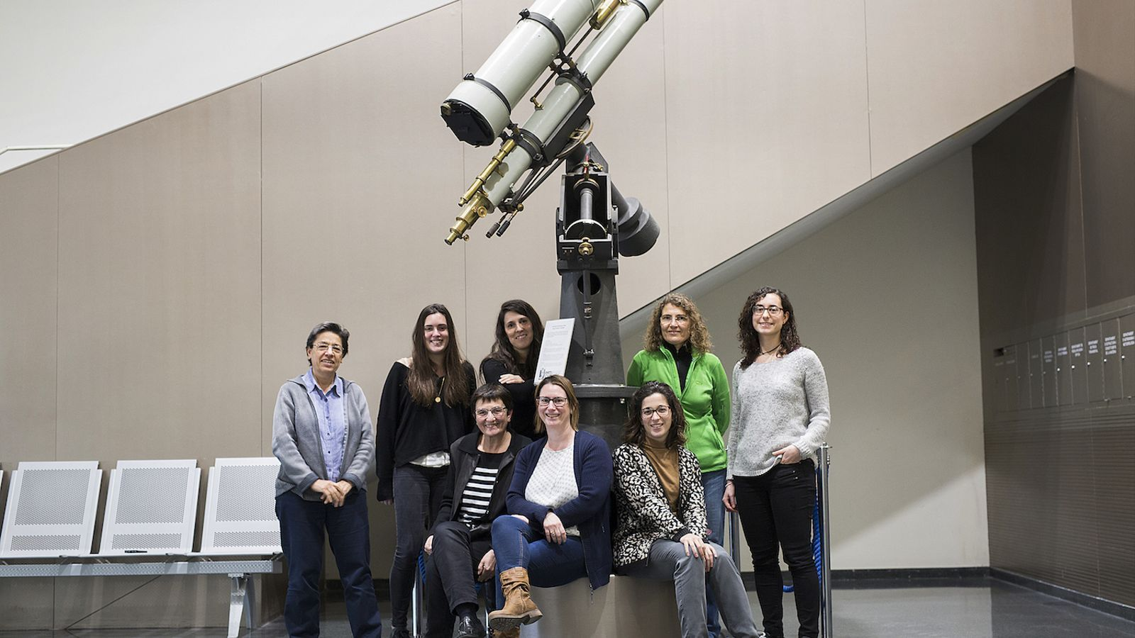 Investigadores de Gaia a la UB / FRANCESC MELCION