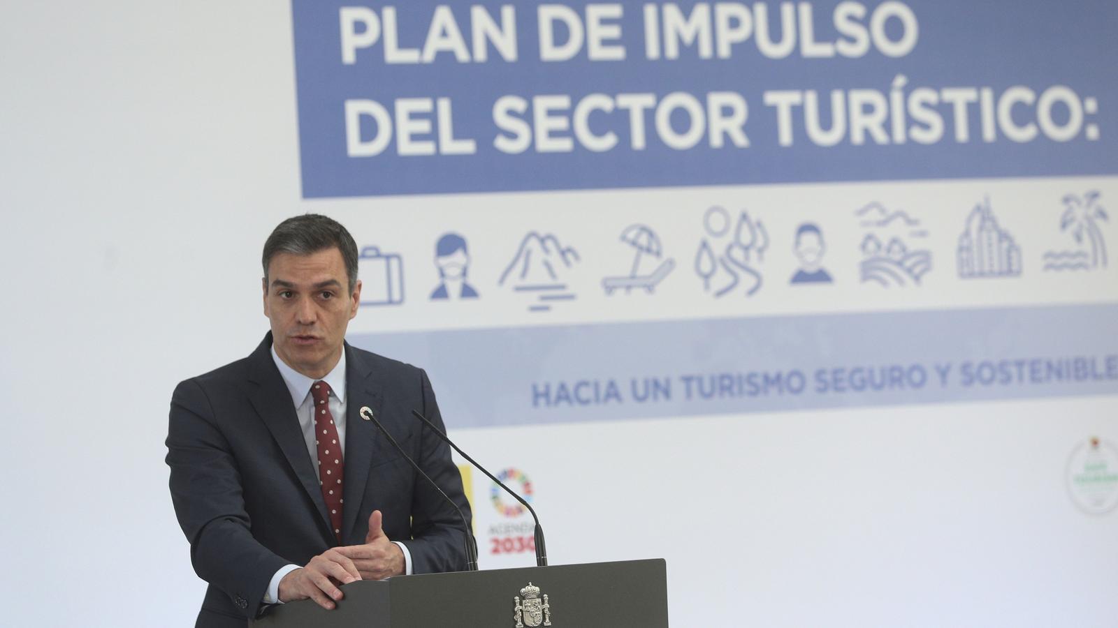L'Estat impulsa un pla de 4.262 M€ perquè el sector turístic es recuperi del covid-19