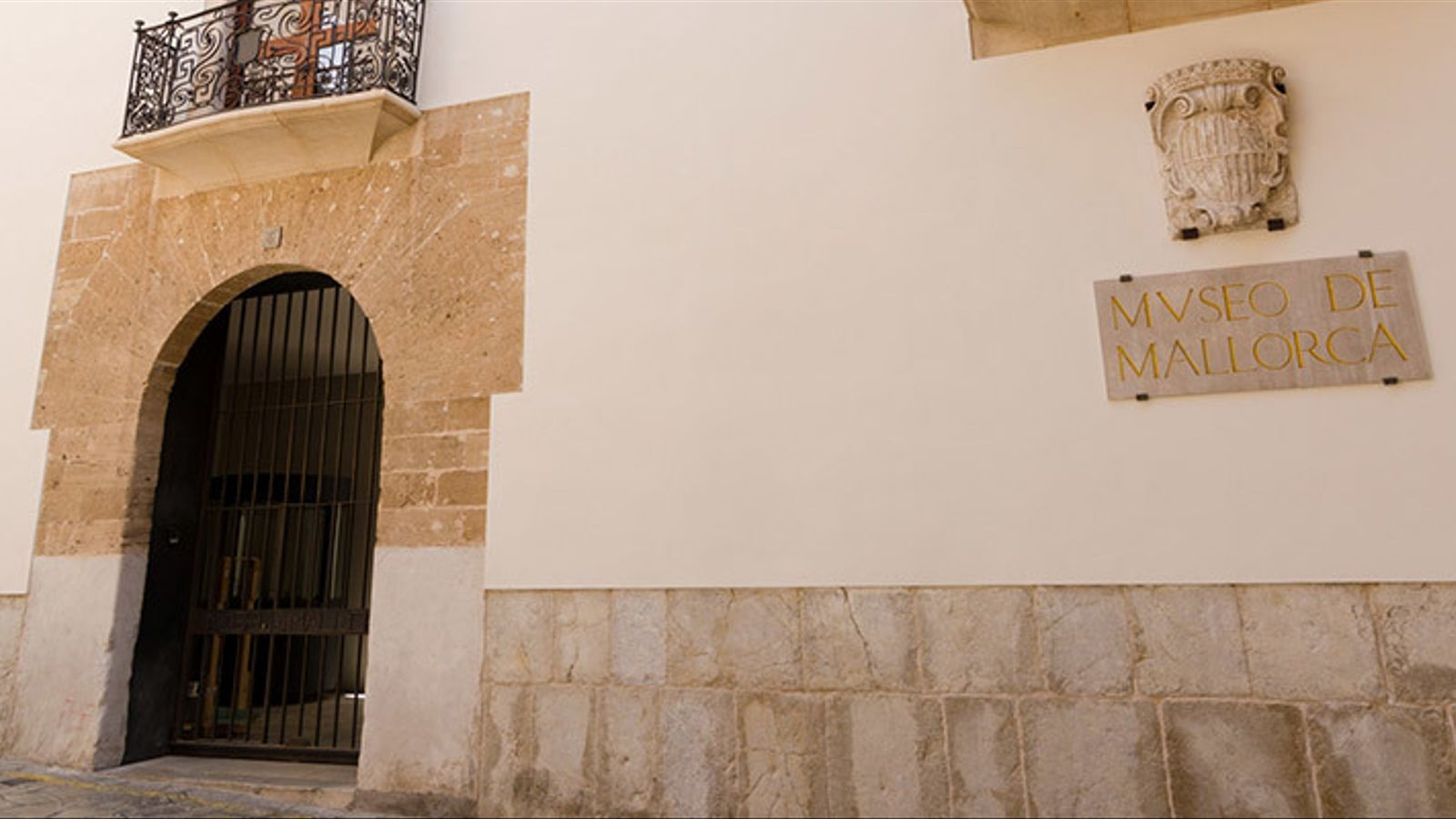 Imatge d'arxiu de l'entrada del Museu de Mallorca.