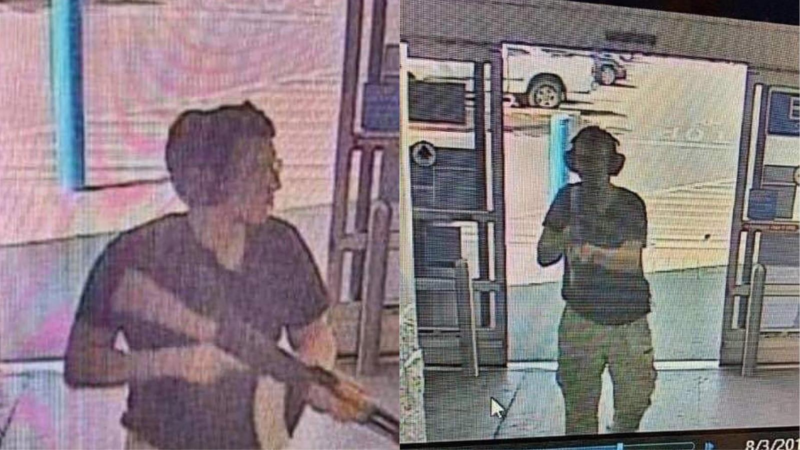 El tirador que ha matat 20 persones quan entrava al centre comercial d'El Paso.