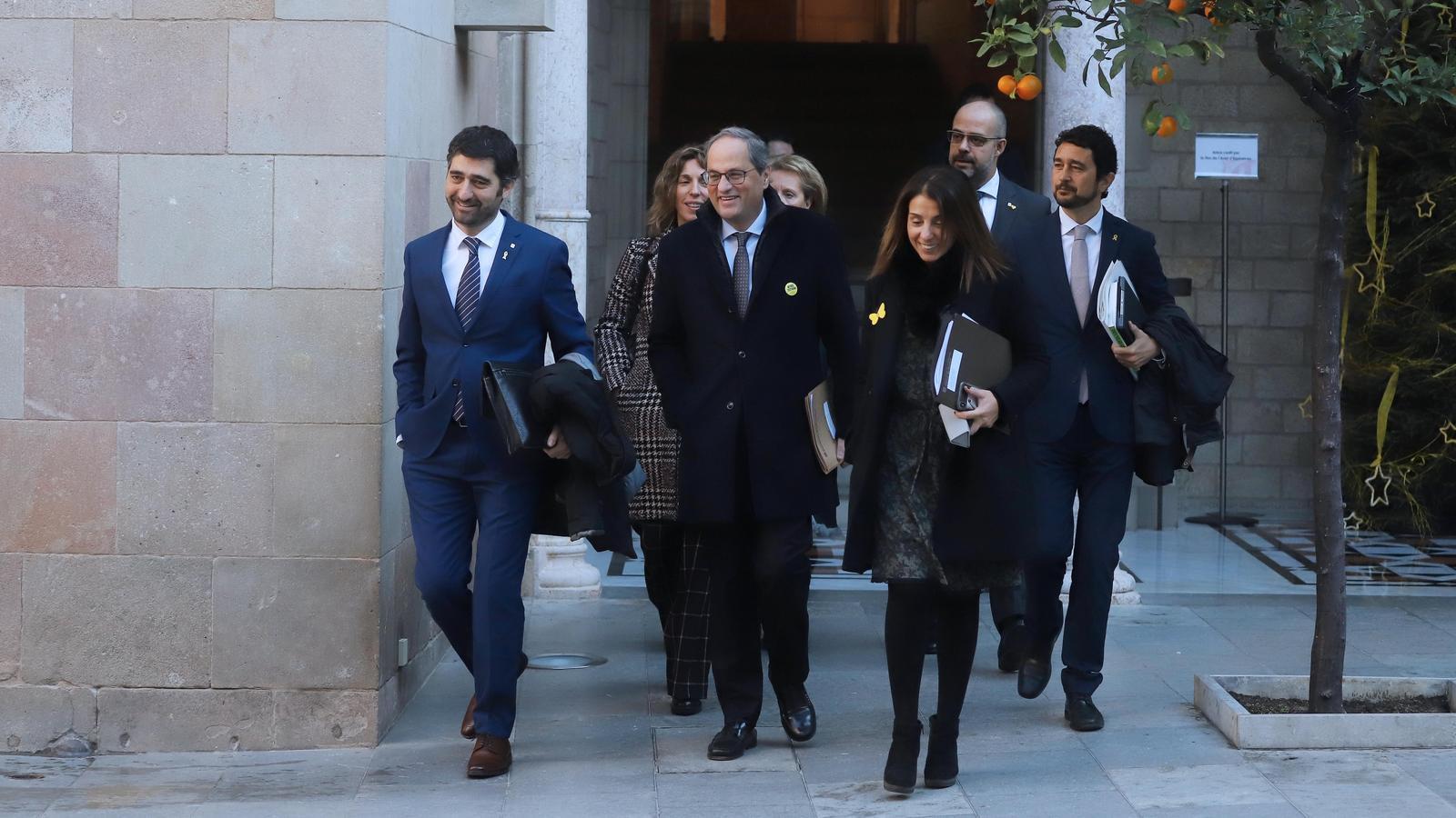 Torra condiciona la taula de negociació entre governs a fer primer una reunió amb Sánchez