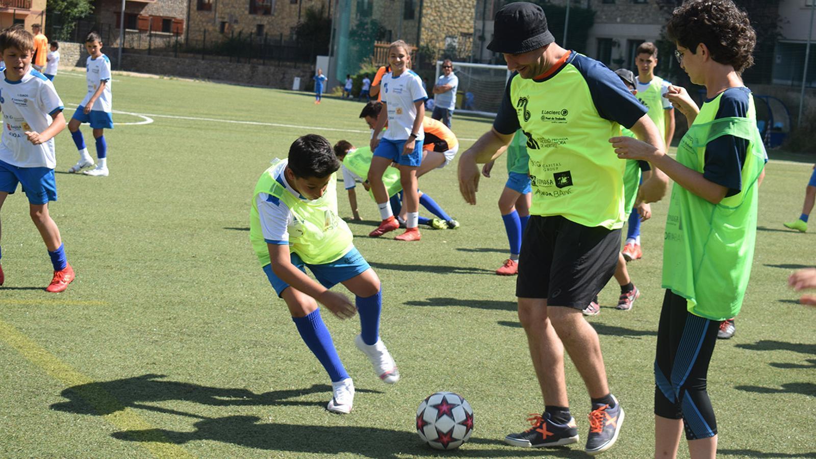 La sessió esportiva i inclusiva. / FPNSM