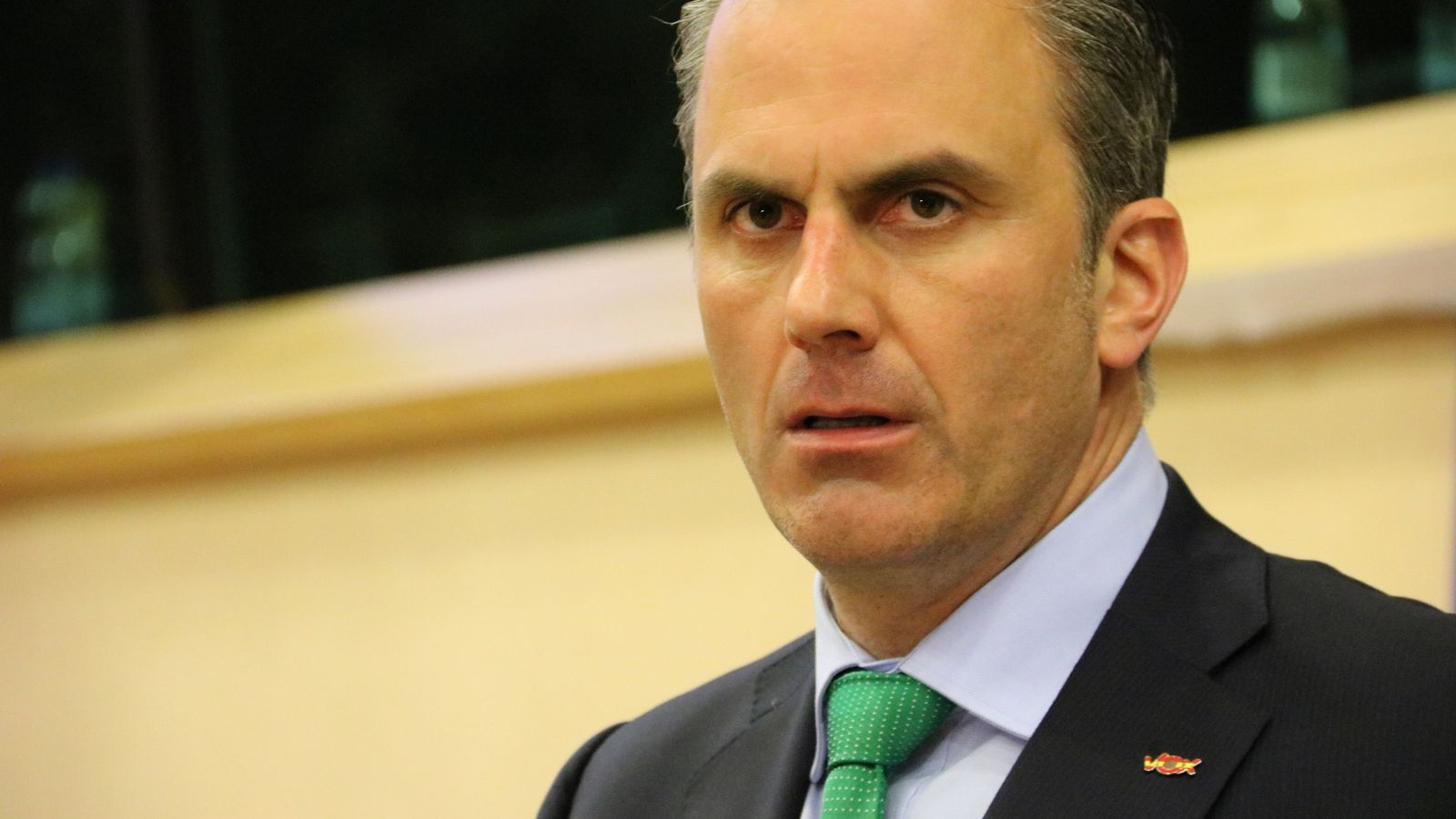 El secretari general de Vox, Javir Ortega Smith.