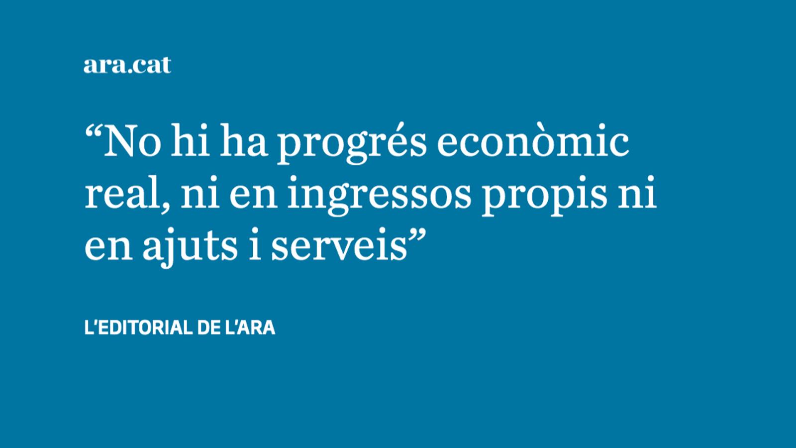 Catalunya: economia puixant, riquesa estancada