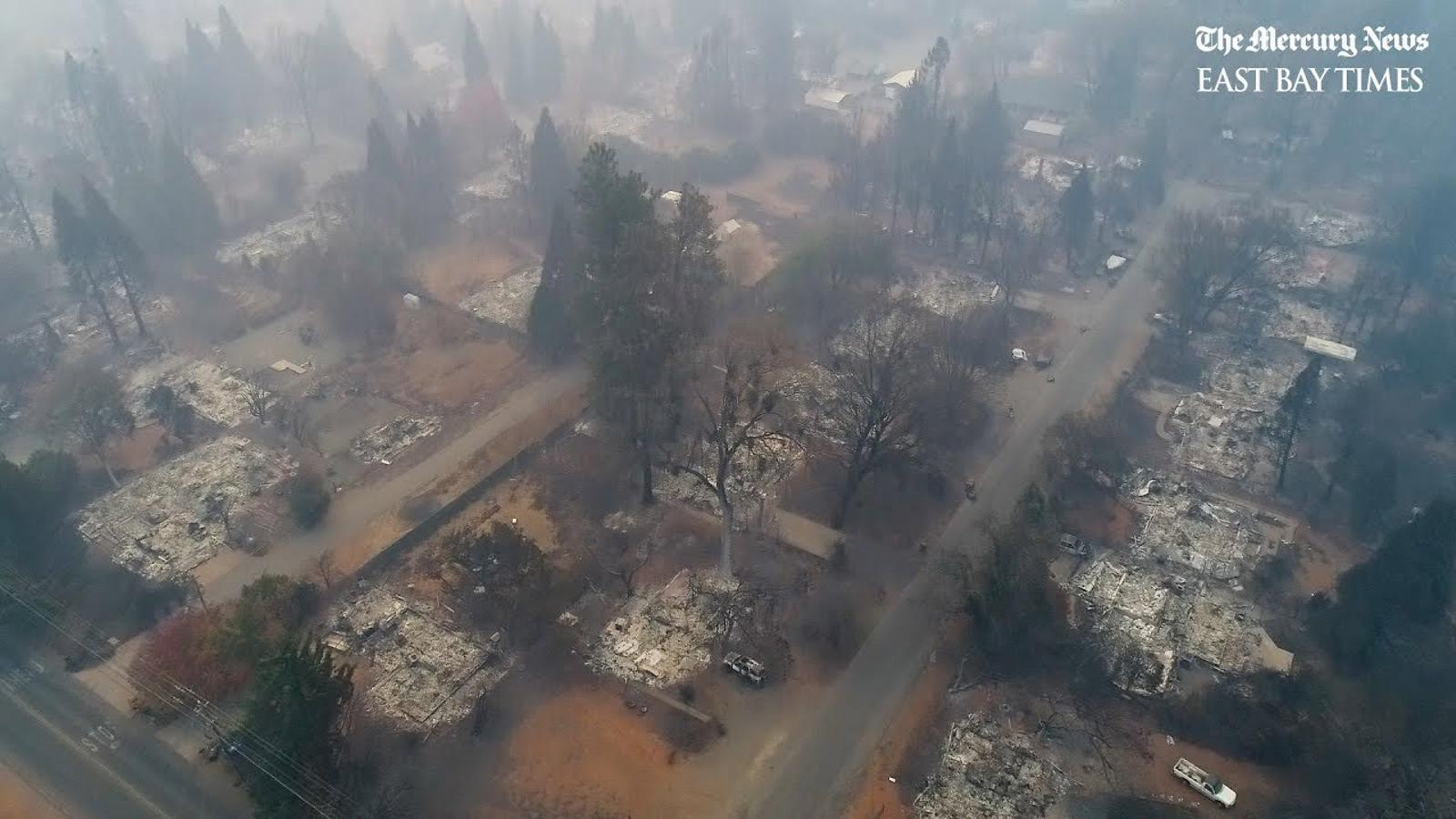 Incendi a Paradise, Califòrnia