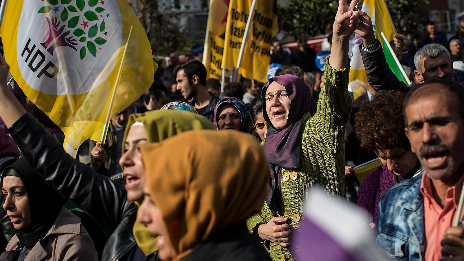 """Selahattin Demirtas : """"La gent a Turquia està farta del govern i vol un canvi immediat"""""""