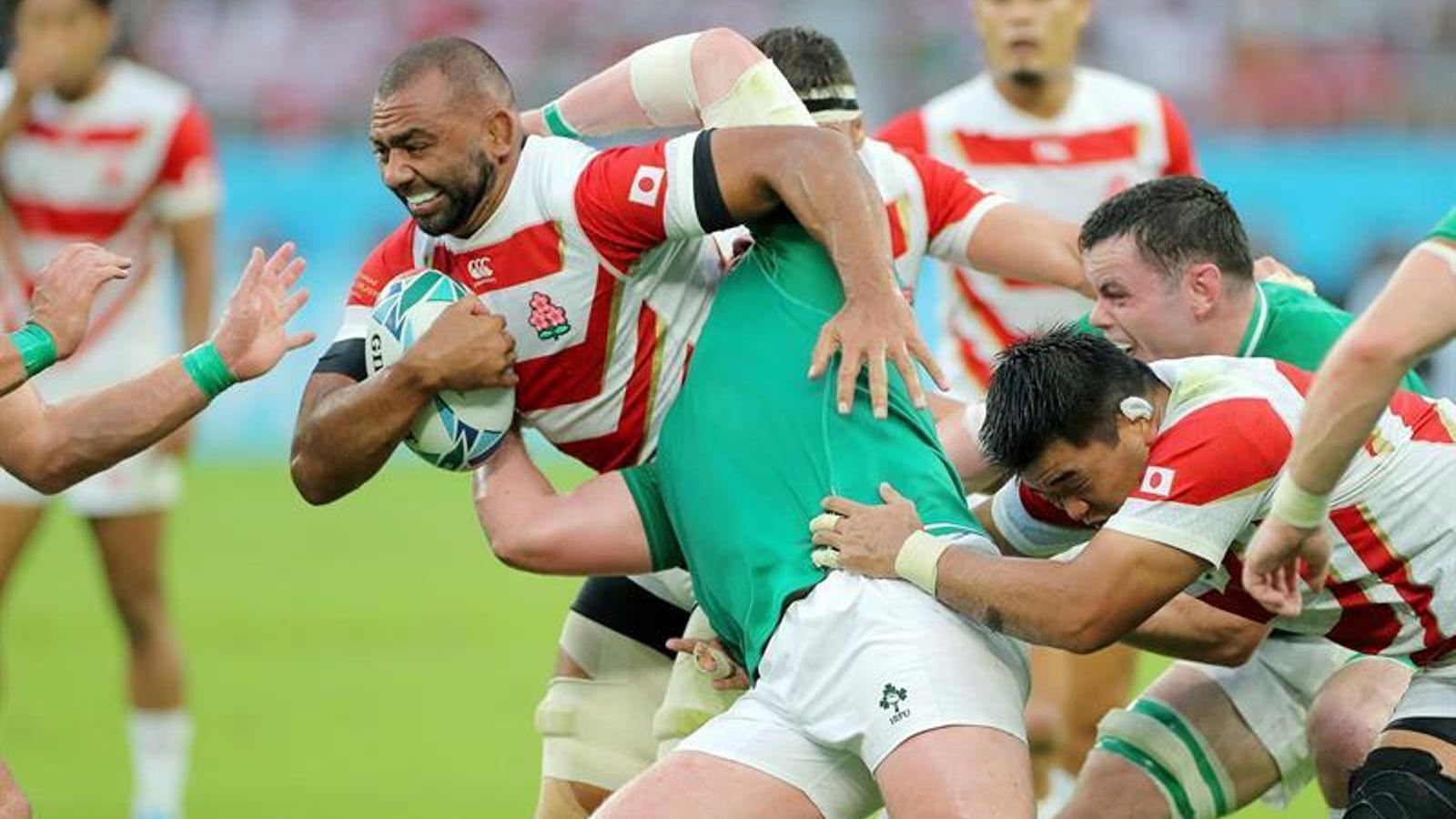 Japó dona la gran sorpresa al Mundial de rugbi derrotant als irlandesos (19-12)