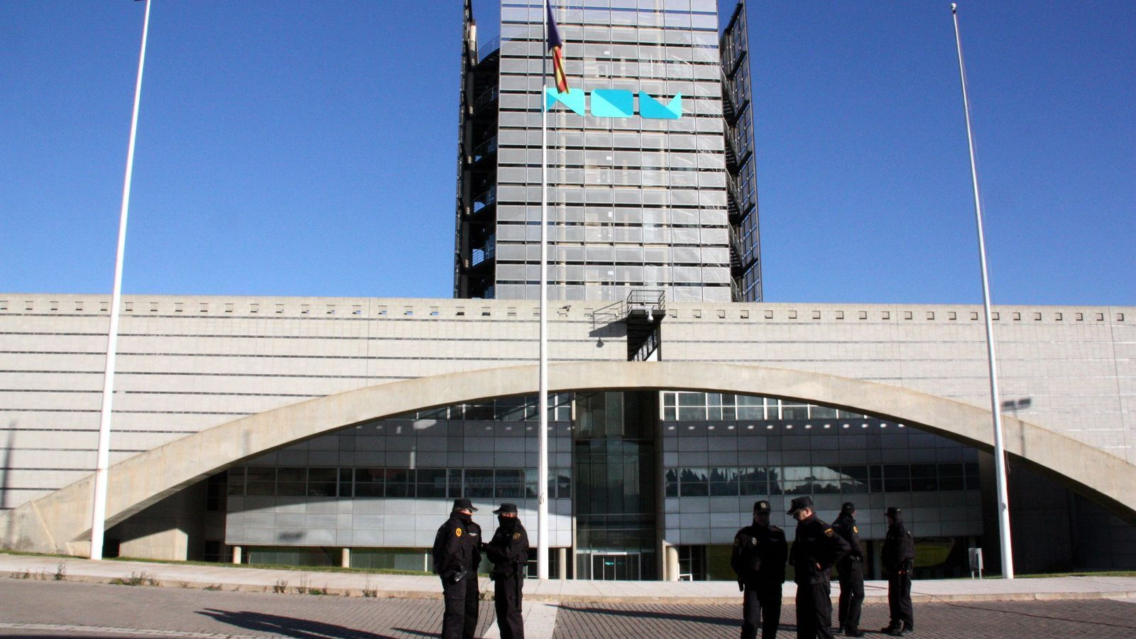 Centre de producció de programes de Radiotelevisió Valenciana, a Burjassot. / JOSÉ SOLER / ACN