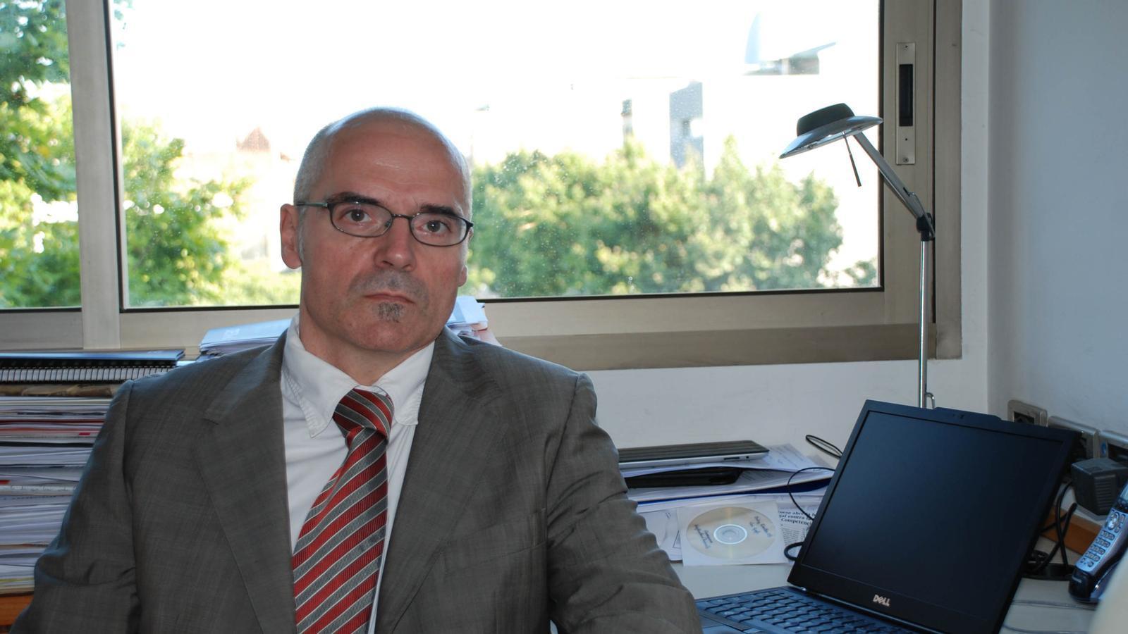 García Montalvo creu que d'aquí 5 o 10 anys es doblaran els pisos llogats.
