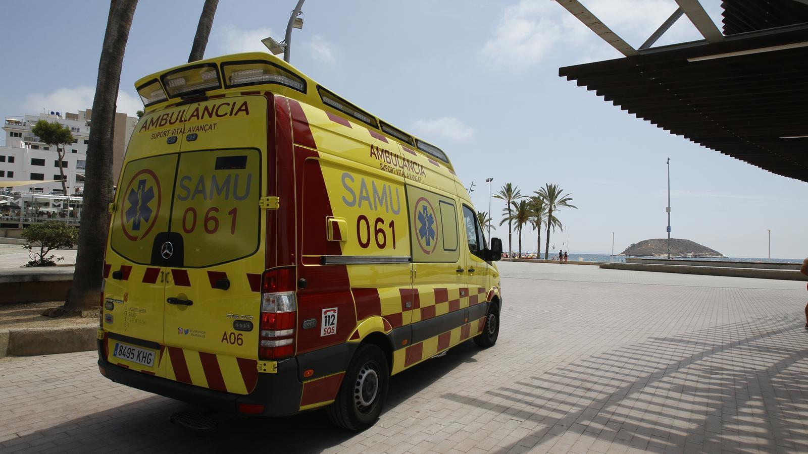 Una ambulància del SAMU./ ISAAC BUJ